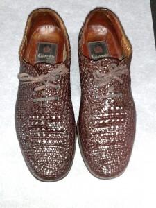 編みこみ靴アフター