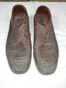編みこみ靴ビフォー