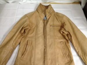 ブラウン ジャケット 全体 色あせ 色落ち 修理 補色
