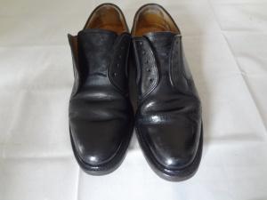 リーガル 紳士靴の亀裂・ひび割れの染直し修理。