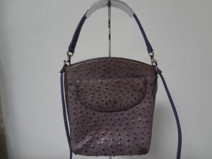 オーストのバッグの退色、染め直し修理!!