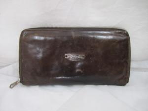 【DIESEL】ディーゼル 長財布の手あか汚れが気になる~クリーニング・汚れ防止コーティング施工