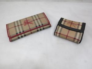 バーバリー 財布のカドをなおす修理事例