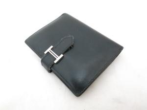 エルメス ベアン 財布の差し込み部分の剥がれや解れを修理した事例