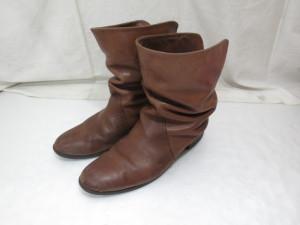 ブーツの色褪せ退色を修理した事例
