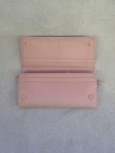 新宿 ソファー、鞄、バッグ、修理、張替、黒ずみ汚れ、クリーニング、色移り、すれ傷  ピンク プラダ22 - コピー