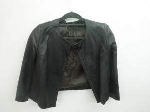 革ジャケット クリーニング/鹿児島県霧島市より白カビ付着によるカビ除去クリーニングのご依頼です。