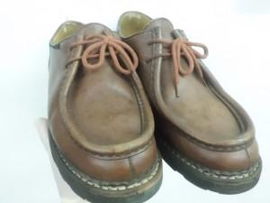 革靴 修理/鹿児島市よりカビ染み補修&色落ち補修&染め直し加工&コーティング加工&撥水加工のご依頼です。