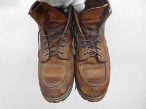 レッドウィング オールソール/沖縄市より靴底劣化によるオールソール(靴底全交換)のご依頼です。鹿児島中央店
