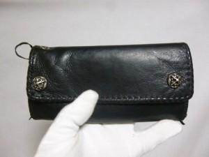 A&G 財布修理/鹿児島市より巻き革裂け補修&破れ補修&再縫製加工の御依頼です。