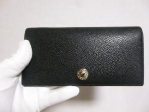 ブルガリ 財布修理/鹿児島県霧島市より小銭入れ破れの症状による生地張替修理の御依頼です。
