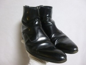 ディオール ブーツ(靴)修理/鹿児島県霧島市よりハーフソール(ゴム半張)の張替修理の御依頼です。