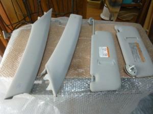 レクサス サンバイザー修理/鹿児島県出水市よりカラーチェンジ補修の御依頼です。