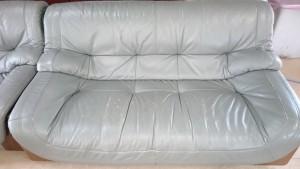 【ソファー擦れ傷補修】座面の気になる擦れ、早めの補修でこんなに綺麗になります☆