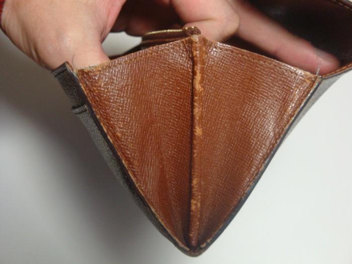 ルイヴィトン【Louis Vuitton】・財布・染め直し