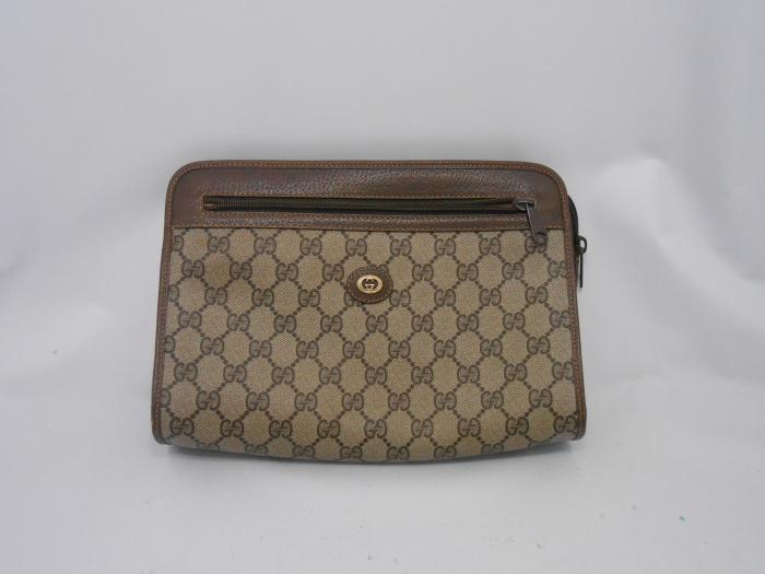 グッチセカンドバッグ内袋交換♪ 外側だけでなく内袋、内張りの補修もお任せ下さい!