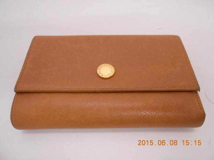 ブルガリお財布染め直し♪ ☆ご相談、出張お見積り(神戸近郊)は無料でございます☆