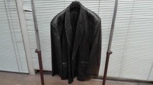 ラムレザーのジャケット 色褪せを染め直しで甦らせました!