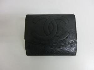 シャネル 財布の修理・補修 染め直しで色あせ補修