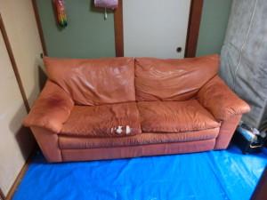ソファの修理 破れ・傷・シミ汚れの補修