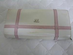 【courreges】クレージュ 財布のカラーチェンジ