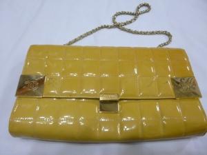 【CHANEL】シャネル エナメル バッグ スレ傷・汚れ・染みの修理・カラーチェンジ・染め直し