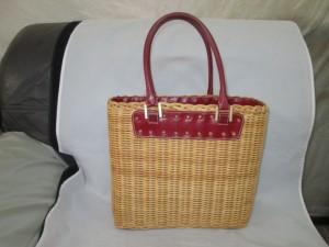 【EPOCA】エポカ 籠バッグの持ち手にカビが発生して補修のご依頼です。