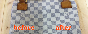 革衣類・小物クリーニングのビフォーアフター