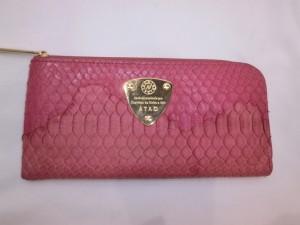 【蛇革】パイソン素材財布にシミ!汚れ痕を修復いたしました!爬虫類系も革研究所