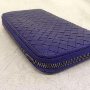 表参道 財布、鞄、バッグ、修理、張替、黒ずみ汚れ、クリーニング、色移り、すれ傷 ブルー ボッテガヴェネタ 14