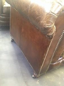椅子サイド縦キズ 施工後