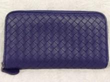 表参道 財布、鞄、バッグ、修理、張替、黒ずみ汚れ、クリーニング、色移り、すれ傷 ブルー ボッテガヴェネタ 22