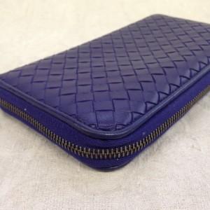 表参道 財布、鞄、バッグ、修理、張替、黒ずみ汚れ、クリーニング、色移り、すれ傷 ブルー ボッテガヴェネタ 19