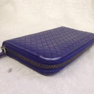 表参道 財布、鞄、バッグ、修理、張替、黒ずみ汚れ、クリーニング、色移り、すれ傷 ブルー ボッテガヴェネタ 13
