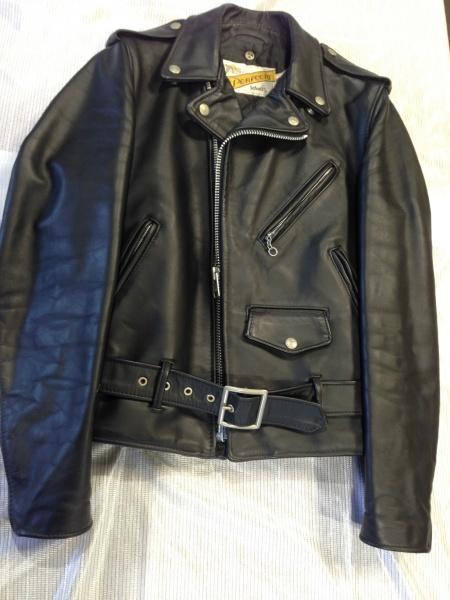 【SCHOTT】ショット ライダースジャケットの部分補修とクリーニング 大阪・奈良・和歌山で革ジャン・レザーコートの修理はぜひ当店で!