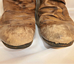靴・ブーツすれ傷ビフォー