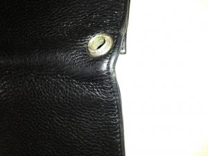 長財布 リペア クリーニングと補色修理