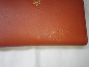 プラダ財布ビフォー (1)