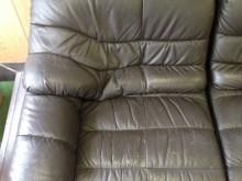ビフォア 左 新宿 鞄、バッグ、修理、張替、黒ずみ汚れ、クリーニング、色移り、すれ傷  黒