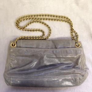プラダ ショルダー グレー B2 ソファー、鞄、バッグ、修理、張替、黒ずみ汚れ、クリーニング、色移り、擦り傷、染め直し