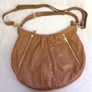 茶色 使用感 B3 ソファー、鞄、バッグ、修理、張替、黒ずみ汚れ、クリーニング、色移り、擦り傷、染め直し