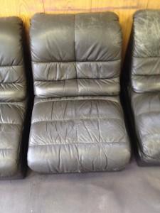 新宿 ペンケース ソファー、鞄、バッグ、修理、張替、黒ずみ汚れ、クリーニング、色移り、すれ傷  黒 17