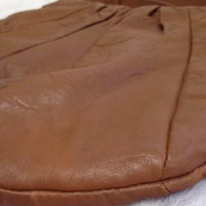 茶色 使用感 A2 ソファー、鞄、バッグ、修理、張替、黒ずみ汚れ、クリーニング、色移り、擦り傷、染め直し