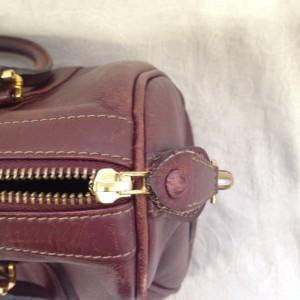 ファスナー A2 ソファー、鞄、バッグ、修理、張替、黒ずみ汚れ、クリーニング、色移り、擦り傷、染め直し