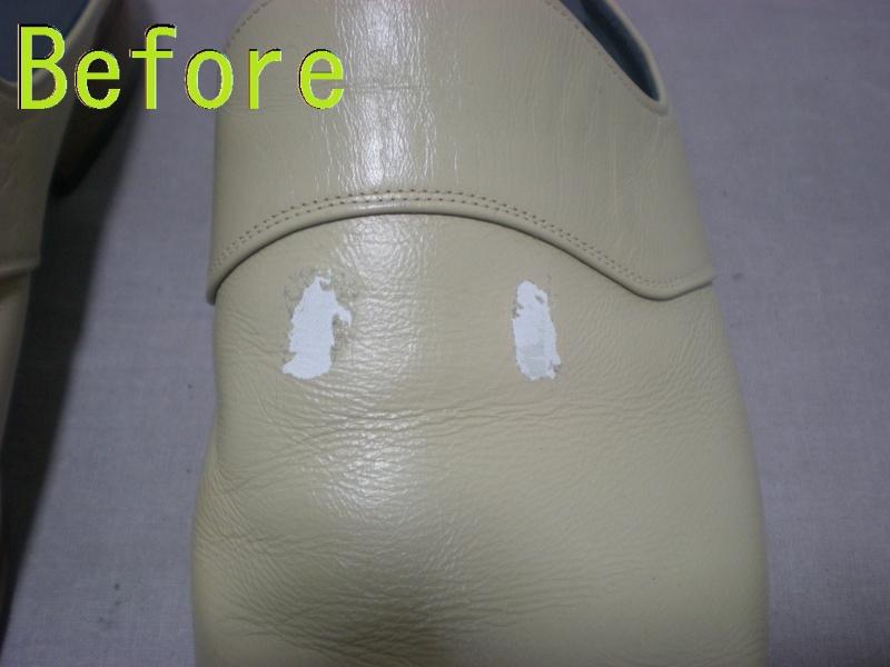 Part88-2 紳士靴染め直し画像 革研究所豊橋店