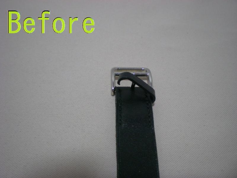 切れた時計ベルトを作り直す! ベルト新規作成 豊橋店のリペアブログ