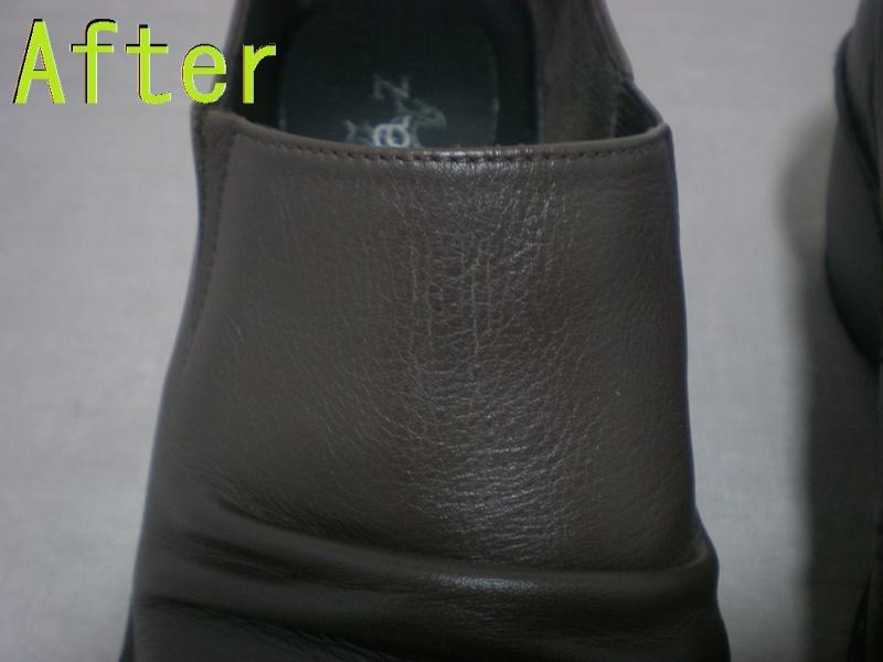 Part78-10 靴色はげ染め直し画像 革研究所豊橋店