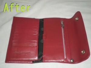 クロムハーツの財布修理画像 革研究所豊橋店修理記録34₋6