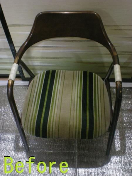 Part81-2 椅子張り替え画像 革研究所豊橋店