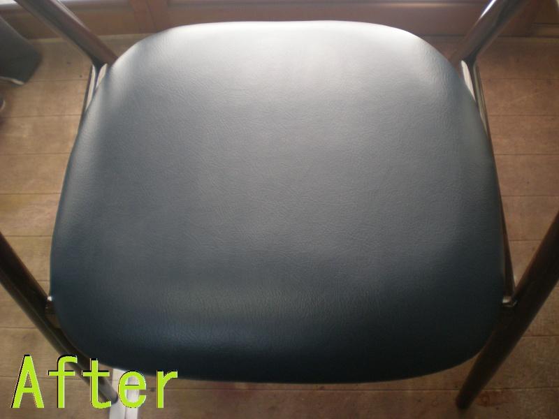 Part81-4 椅子張り替え画像 革研究所豊橋店